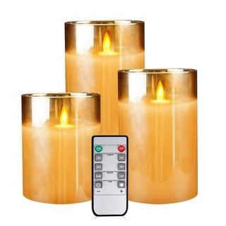 Flameless Led Candles Flickering, Yinuo Candle Real Wax Fake Wick