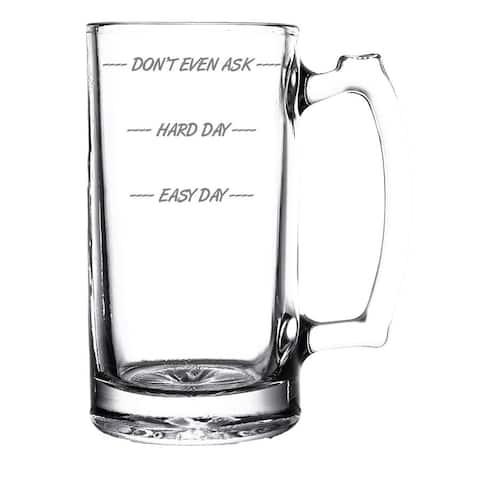 Don't Even Ask Beer Mug