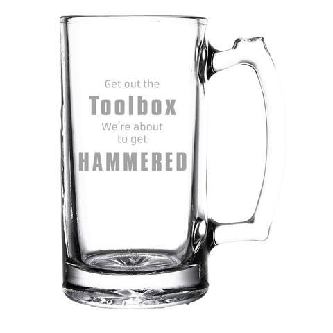 Get Hammered Beer Mug