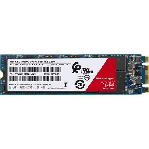 WD Red WDS200T1R0B 2 TB Solid State Drive - M.2 2280 Internal - SATA (SATA/600)