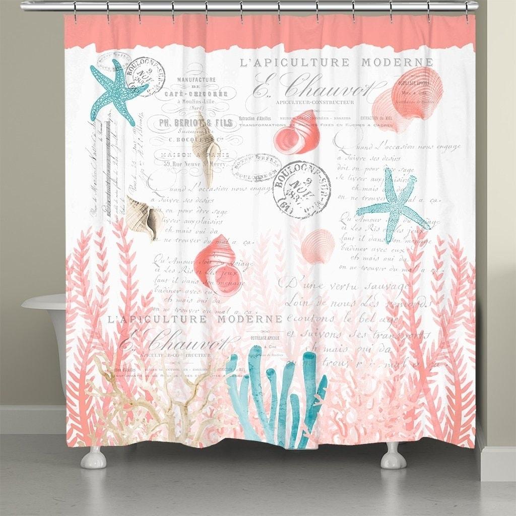 C Cove Shower Curtain