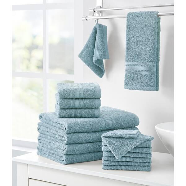 Porch Den Ardmore Cotton 16 Piece Bath Towel Set On Sale Overstock 30366334