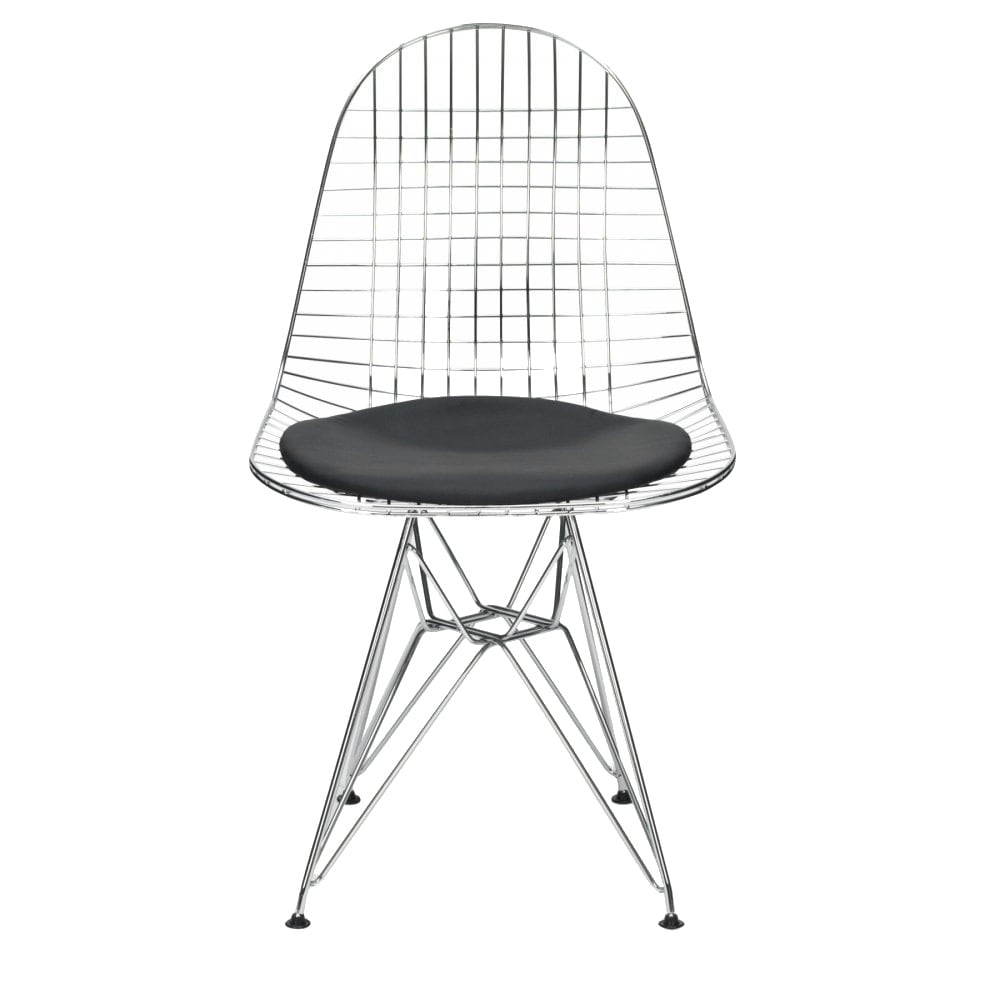 Mesh Chair, Steel wire mesh frame and Floor protectors.