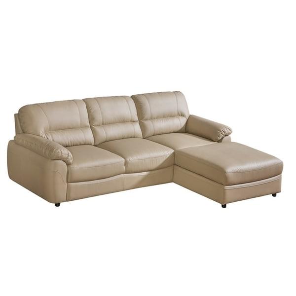 BALTICA 1 Eco Leather Sleeper Sectional