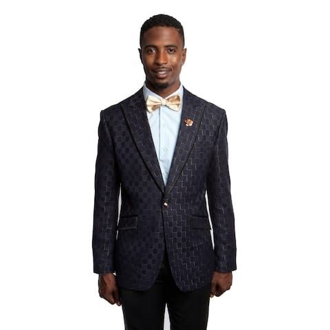 Fashion Jacket Peak Lapel Slim Fit Blazer Stylish Mens Blazer Jackets