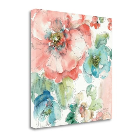 """""""Summer Bloom II"""" by Lisa Audit, Fine Art Giclee Print on Gallery Wrap Canvas, Ready to Hang"""