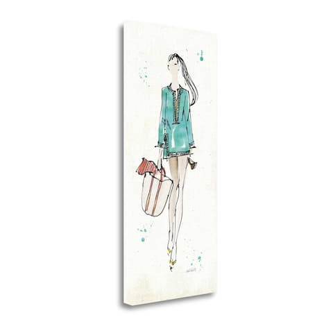 """Beach Divas IV Color"" by Anne Tavoletti, Giclee Print on Gallery Wrap Canvas"
