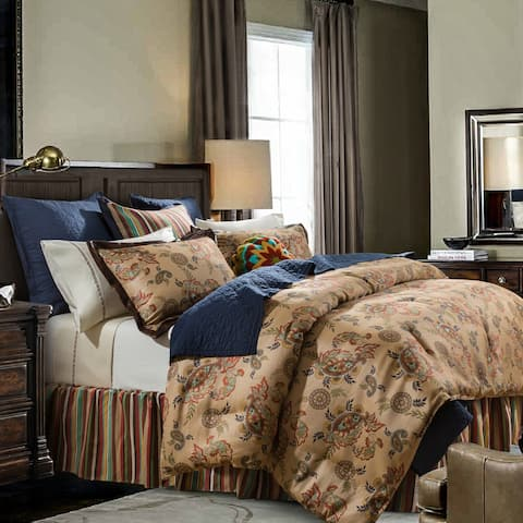 HiEnd Accents Tammy Comforter Set, Super Queen