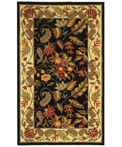 Safavieh Handmade Paradise Black Wool Rug (2'9 x 4'9)