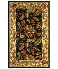 "Safavieh Handmade Paradise Black Wool Rug - 2'9"" x 4'9"""