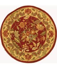 Safavieh Handmade Paradise Red Wool Rug - 4' x 4' Round