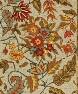 Safavieh Handmade Paradise Light Blue Wool Rug (2'9 x 4'9) - Thumbnail 1