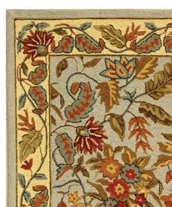 Safavieh Handmade Paradise Light Blue Wool Rug (2'9 x 4'9) - Thumbnail 2