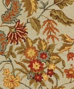 Safavieh Handmade Paradise Light Blue Wool Runner (2'6 x 6') - Thumbnail 1