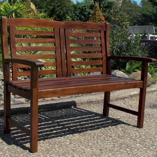 International Caravan Highland Trinidad Garden Bench