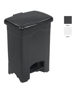 Safco Four-gallon Polyethylene Plastic Durable Step-on Trash Can