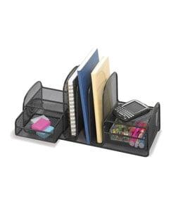 Safco Onyx Mesh Multipurpose Desk Organizer