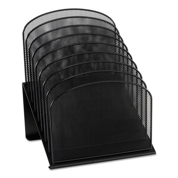 Safco mesh 8 tier file organizer free shipping on orders - Mesh desk organizer ...