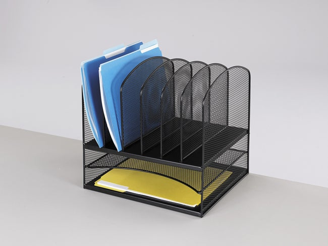 Safco Mesh 8-section Desk Organizer - Free Shipping Today - Overstock