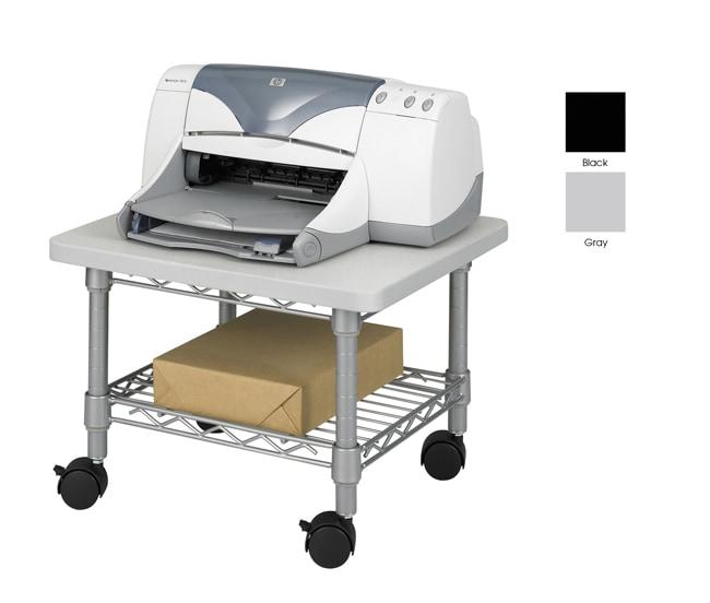Safco Under desk Printer Fax Steel Frame Laminate Top