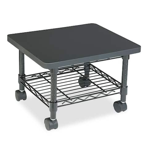 Safco Under-desk Printer/Fax Steel Frame/Laminate Top Stand/Cart