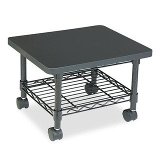 Safco Under-desk Printer/Fax Steel Frame/Laminate Top Stand/Cart