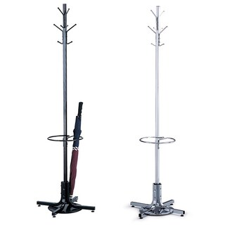 Safco Coat Rack with Umbrella Stand