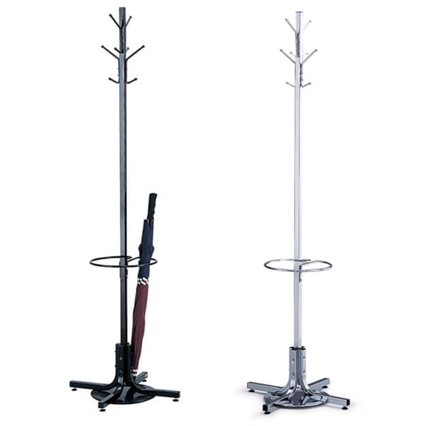 Grid Coat Rack In Office Accessories: Shop Safco Coat Rack With Umbrella Stand