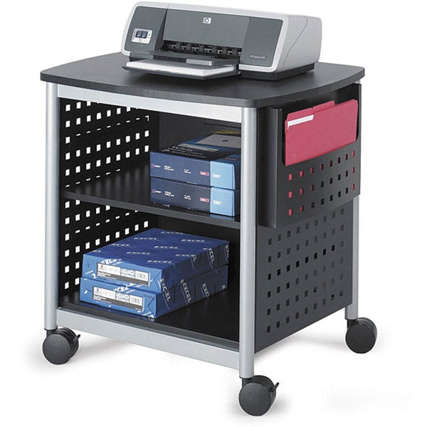 Safco Scoot Desk Mobile Printer Stand