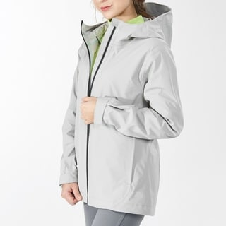 Link to Women's Windproof Hooded Rain Jacket for Outdoor Hike Gray Similar Items in Women's Outerwear