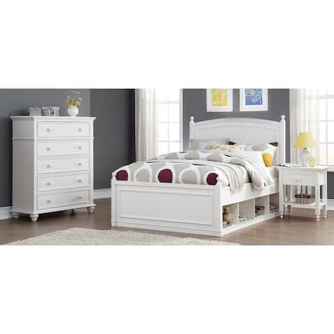 Mila White 3-piece Bedroom set