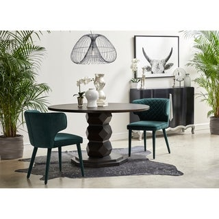Link to Emerald Green Quilted Shelter Back Dining Chair Similar Items in Dining Room & Bar Furniture