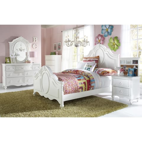 Sweetheart White 2-pc. Kids' Dresser and Mirror Set