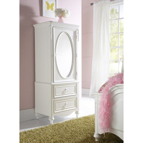 Sweetheart White 1-door Wardrobe