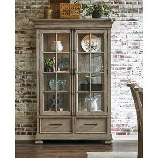Prospect Hill Grey 2-door China Cabinet
