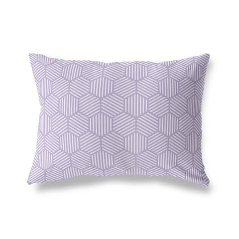 ATHENA PURPLE Lumbar Pillow by Kavka Designs