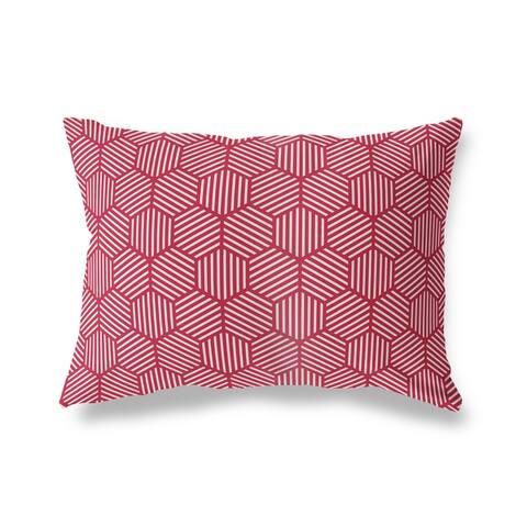 ATHENA RED Lumbar Pillow by Kavka Designs