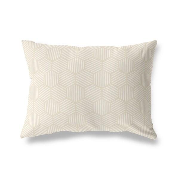 ATHENA OATMEAL Lumbar Pillow By Kavka Designs