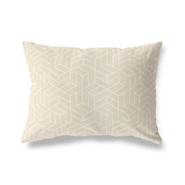 TITAN OATMEAL Lumbar Pillow By Kavka Designs
