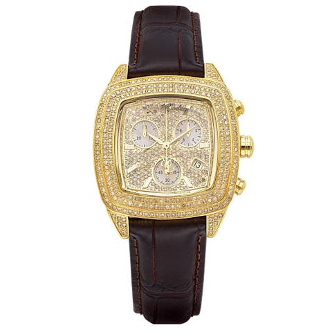 Joe Rodeo Men's and Women's Diamond Watch Genuine Diamonds, 38 mm size case Model CHELSEA