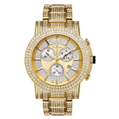 Joe Rodeo Men's Diamond Watch Genuine Diamonds, 47 mm size case Model TROOPER