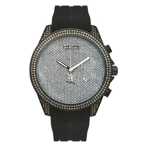 Joe Rodeo Men's Diamond Watch Genuine Diamonds, 49 mm size case Model EMPIRE. Opens flyout.