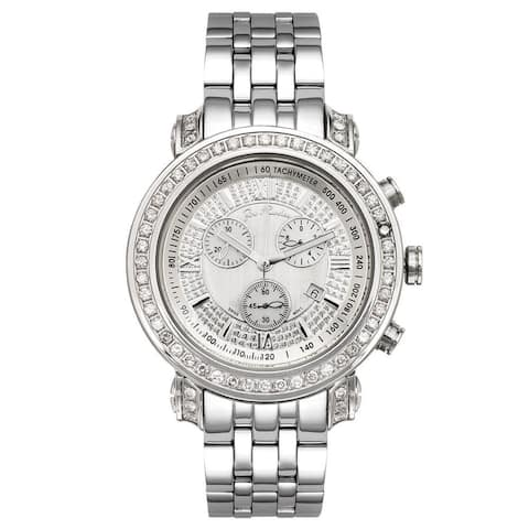Joe Rodeo Men's Diamond Watch Genuine Diamonds, 49 mm size case Model TYLER