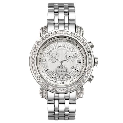 Joe Rodeo Men's Diamond Watch Genuine Diamonds, 49 mm size case Model TYLER