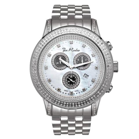 Joe Rodeo Men's Diamond Watch Genuine Diamonds, 48 mm size case Model SICILY