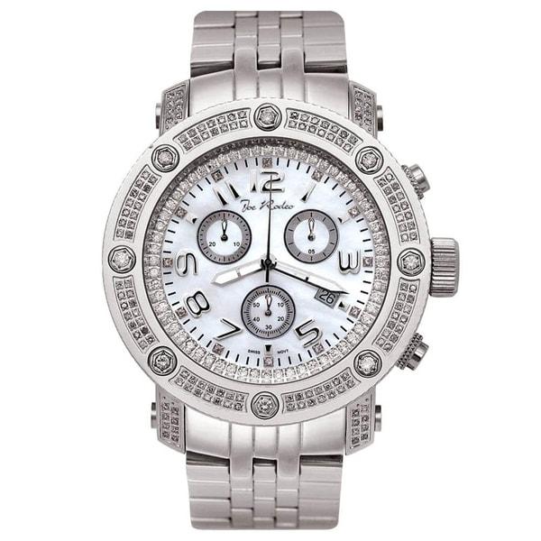 Joe Rodeo Men's Diamond Watch Genuine Diamonds, 49 mm size case Model APOLLO. Opens flyout.