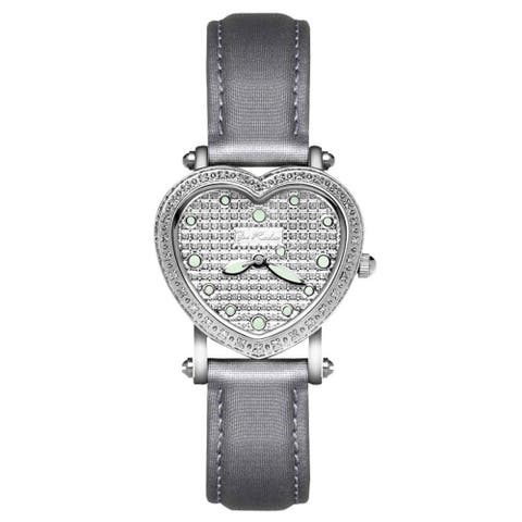 Joe Rodeo Women's Diamond Watch Genuine Diamonds, 29 mm size case Model MINI HEART
