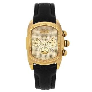 Yellow Joe Rodeo Men's Diamond Watch Genuine Diamonds 0.36 ctw, 36 mm size case, Model: King, Style: JKI30 - JKI30 (0.36ctw)