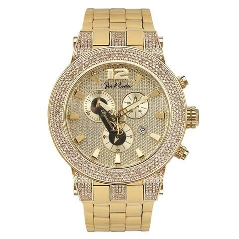 Joe Rodeo Men's Diamond Watch Genuine Diamonds, 45 mm size case Model BROADWAY