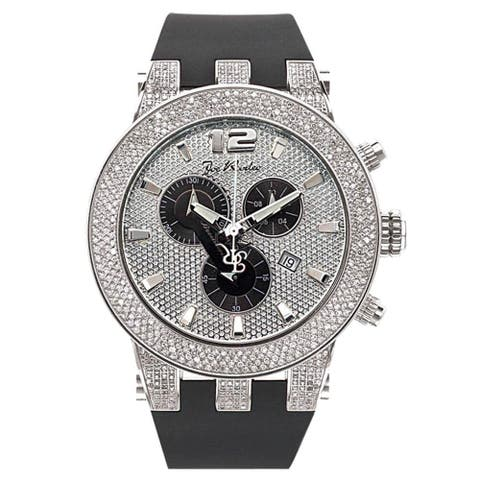 Joe Rodeo Men's Diamond Watch Genuine Diamonds, 45 mm size case Model BROADWAY